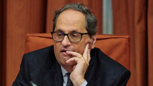 Primera bronca para un ministro de Sánchez: Torra llama