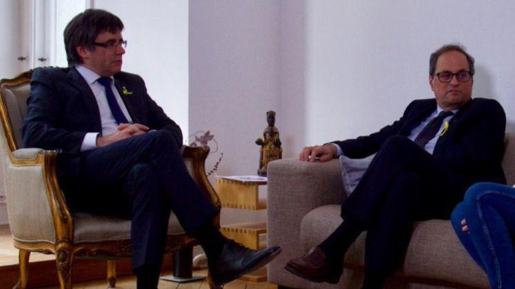 Quim Torra y Puigdemont aparecen en una investigación de Anticorrupción en Girona