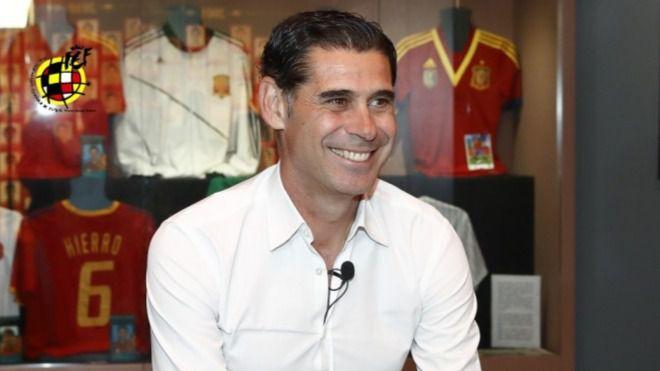 Hierro, nuevo seleccionador de España
