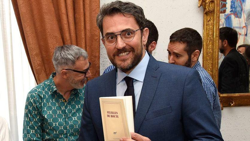 Màxim Huerta dimite como ministro: 'Me voy porque amo la cultura'