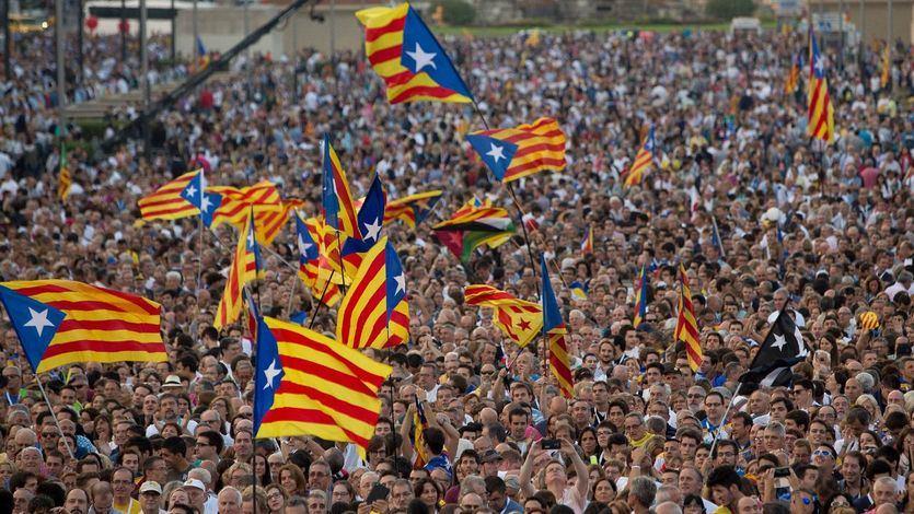 La Asamblea Nacional Catalana llama al consumo independentista como boicot a las empresas 'españolistas' del Ibex 35