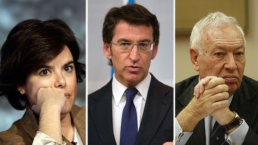 Sucesión en el PP: Santamaría escala posiciones, piden a Feijóo que confirme su candidatura y Margallo irrumpe por sorpresa
