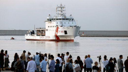 Balance de los 630 rescatados del 'Aquarius': 6 hospitalizados; 87 piden refugio en España y 70 en Francia