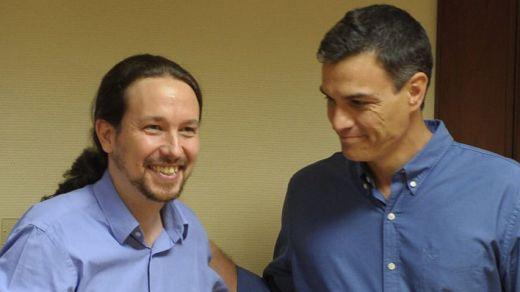 Sánchez y Pablo Iglesias mantuvieron una reunión secreta en Moncloa: esto es lo que negociaron