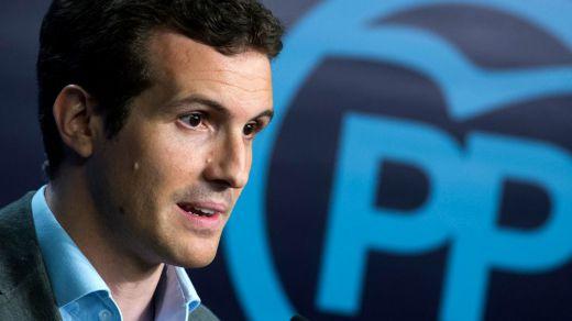 Pablo Casado da un paso al frente y se presenta como candidato a presidir el nuevo PP