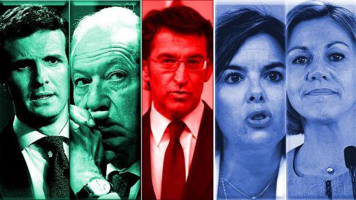 La negativa de Feijóo abre una etapa de guerra en el PP, lo que no quería Rajoy