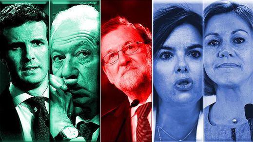 Cospedal, Santamaría, Casado y Margallo, los 4 aspirantes al trono de Rajoy