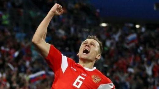 Mundial de Rusia: la anfitriona sigue imperial tras ganar a Egipto (3-1) y Senegal da la sorpresa
