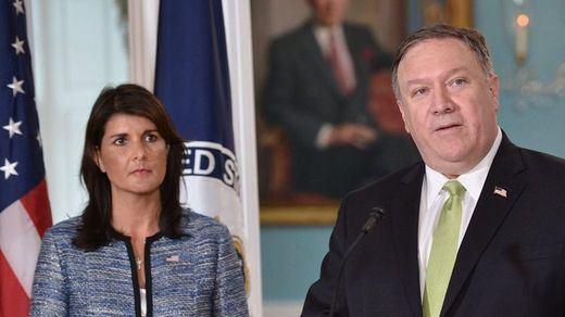 EEUU deja el Consejo de Derechos Humanos de la ONU por las críticas a Israel