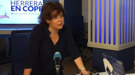 Santamaría: si gana Cospedal la apoyará para que sea la primera presidenta de España