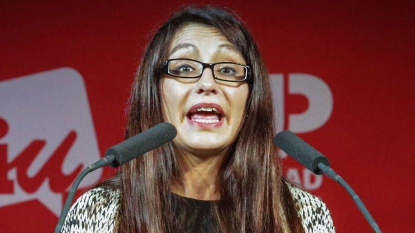 Sol Sánchez (IU): 'Lo mejor para el Valle de los Caídos es la Goma-2'
