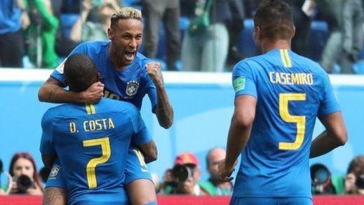 Mundial Rusia 2018: Brasil se salva por los pelos y Nigeria da vida a Argentina