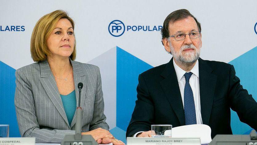 Cospedal da sus primeras 'puñaladas' en el arranque de campaña del PP