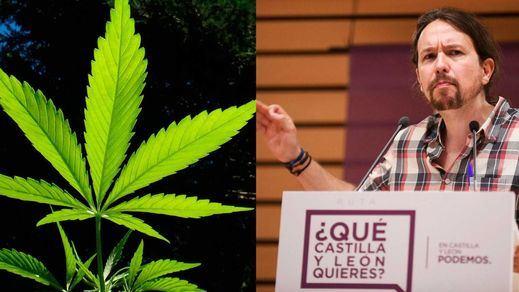 Pablo Iglesias apoya legalizar la marihuana como impulso de la 'marca España'