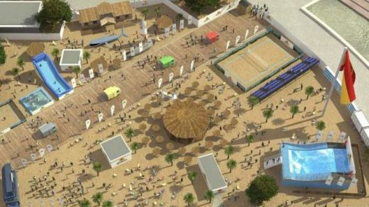 Peligra el proyecto de la playa urbana para Madrid: los vecinos se quejan