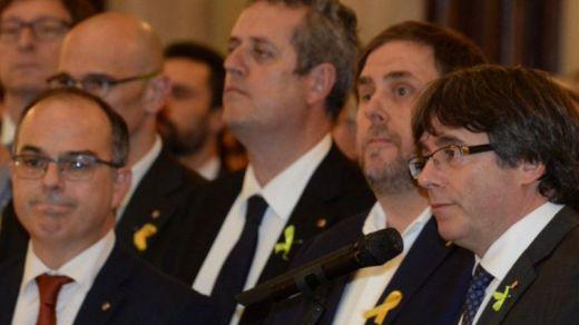 El Supremo mantiene el procesamiento por rebelión de Puigdemont y 14 líderes independentistas