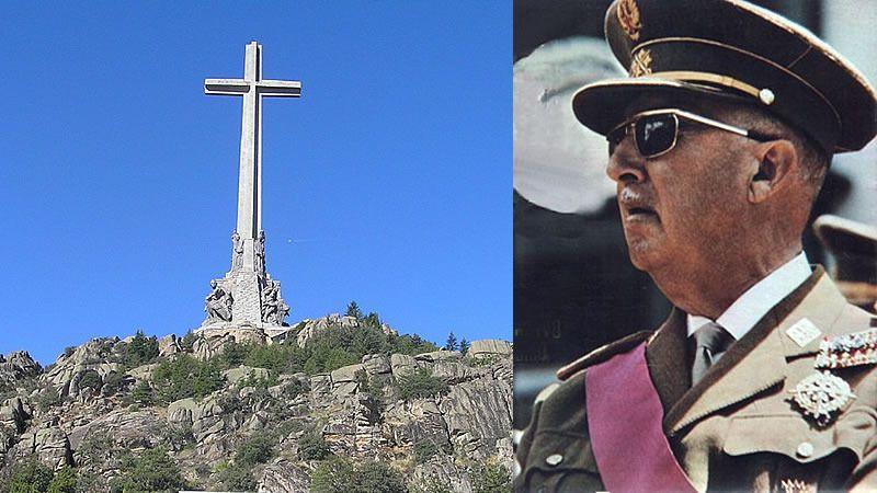Los restos de Franco, a punto de salir del Valle de los Caídos