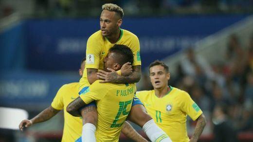 Brasil, tras tanto sufrimiento, se clasifica primera