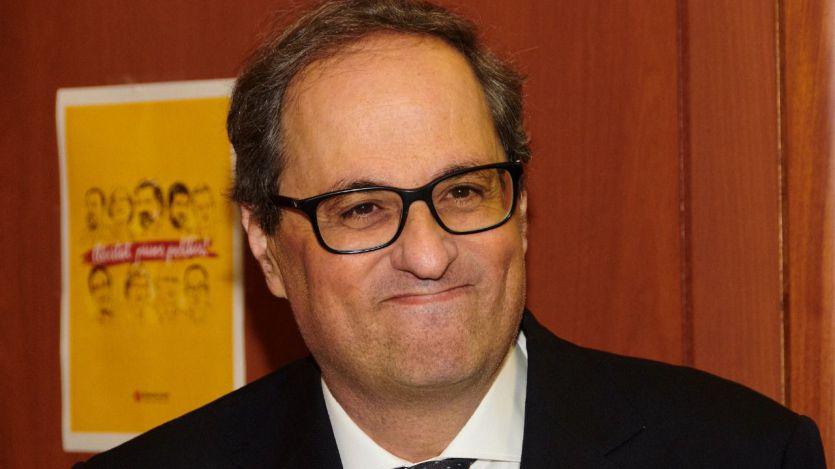 Torra pedirá a Sánchez en su reunión del 9-J un 'referéndum pactado' con el Estado