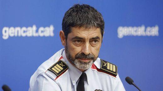 Trapero y la ex cúpula de los Mossos, procesados por sedición y organización criminal