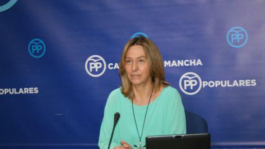 La presidenta del Grupo Parlamentario Popular en las Cortes regionales, Ana Guarinos