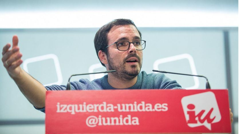 Garzón: 'El PSOE nos empuja a pensar que está comprometido con la línea neoliberal y el programa del PP'