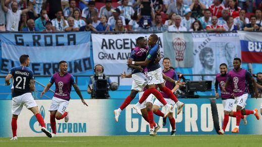 Francia supera a Argentina y se cuela en cuartos del Mundial (4-3)