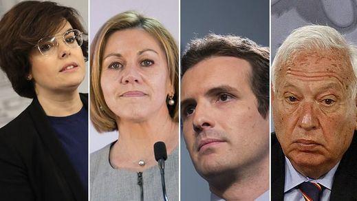 Motes entre los candidatos en el último fin de semana de campaña del PP