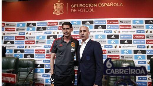 Empiezan a sonar nombres para sustituir a Fernando Hierro en el banquillo de la Selección