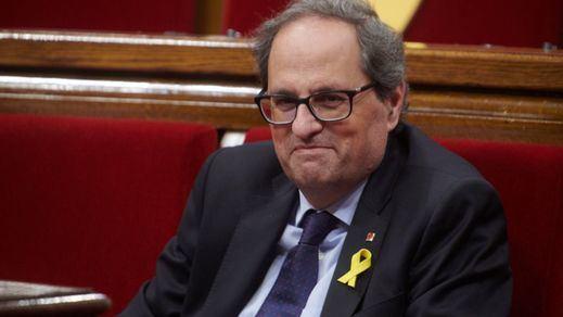 Torra insiste en reivindicar el derecho de autodeterminación justo antes de acudir a la Moncloa
