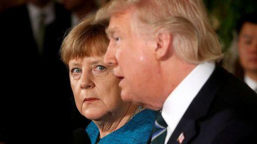 Merkel juega bajo las reglas de Trump