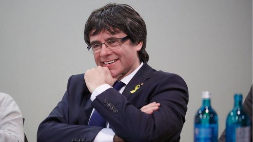 Puigdemont celebra haber