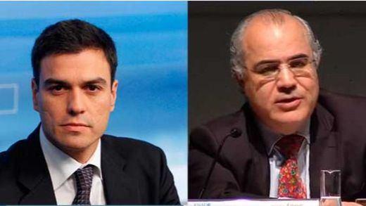 Pedro Sánchez, Pablo Llarena y Josep Borrell