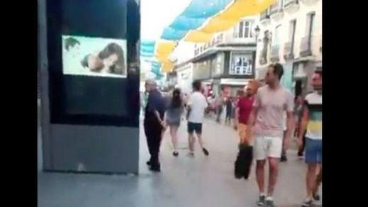 Vídeo porno en calle Preciados