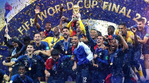 Francia logra su segundo Mundial tras derrotar a Croacia (4-2)