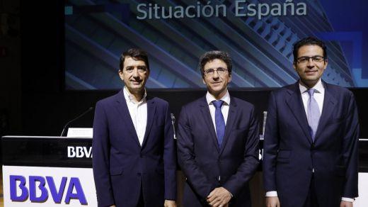 El BBVA también mantiene las previsiones de crecimiento para la nueva España de Sánchez