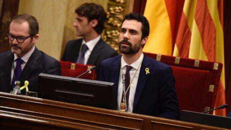 El Constitucional impide celebrar el Pleno del Parlament Catalán que llamaba a 'culminar la independencia'