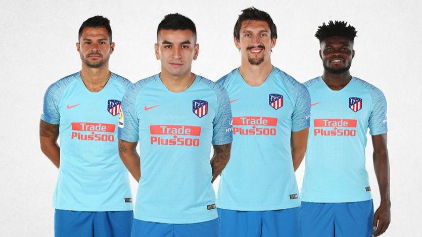 El Atlético se viste de azul para su segunda equipación