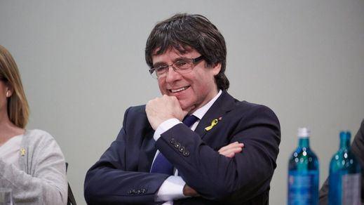 Puigdemont y la primera ministra de Escocia celebran así el paso atrás de Llarena