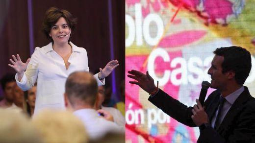 PP, batalla final por su modelo del futuro: del discreto 'fair play' de Santamaría a la agitada 'renovación' de Casado
