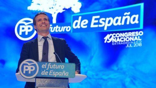 Casado apeló al ala derechista y conservadora del PP pero ofreció integración total