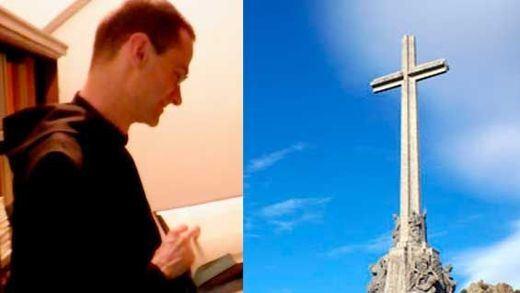 El prior del Valle de los Caídos que se opone a exhumar a Franco fue candidato de Falange