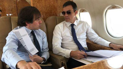 El polémico aeropuerto 'sin aviones' de Castellón fue el utilizado por Sánchez para su viaje