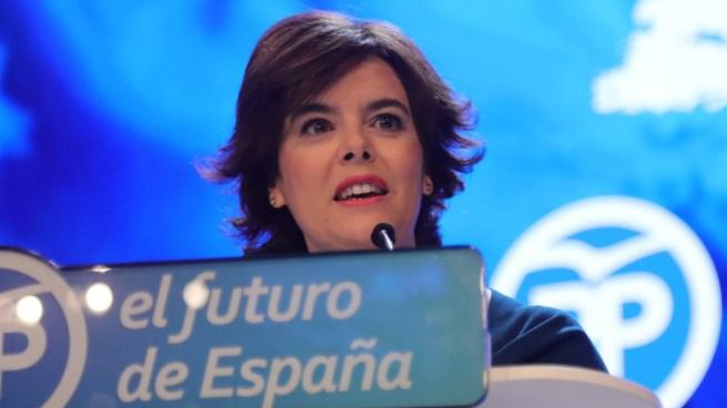 Sáenz de Santamaría no se ve como candidata a la Alcaldía de Madrid