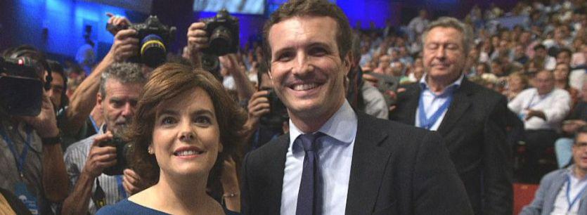Guerra en el PP: Santamaría se siente despreciada pero algunos de sus apoyos se integran en la Ejecutiva de Casado