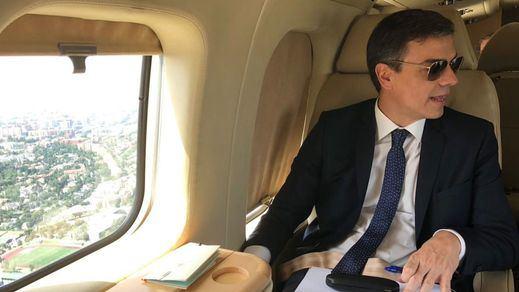 Sánchez zanja la polémica de su viaje en avión para ir al FIB: fue por
