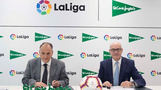 El Corte Inglés apuesta por LaLiga durante 3 temporadas más