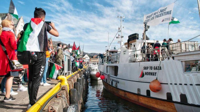 Israel vuelve a interceptar a la Flotilla de la Libertad; detenida a 49 millas de la costa palestina