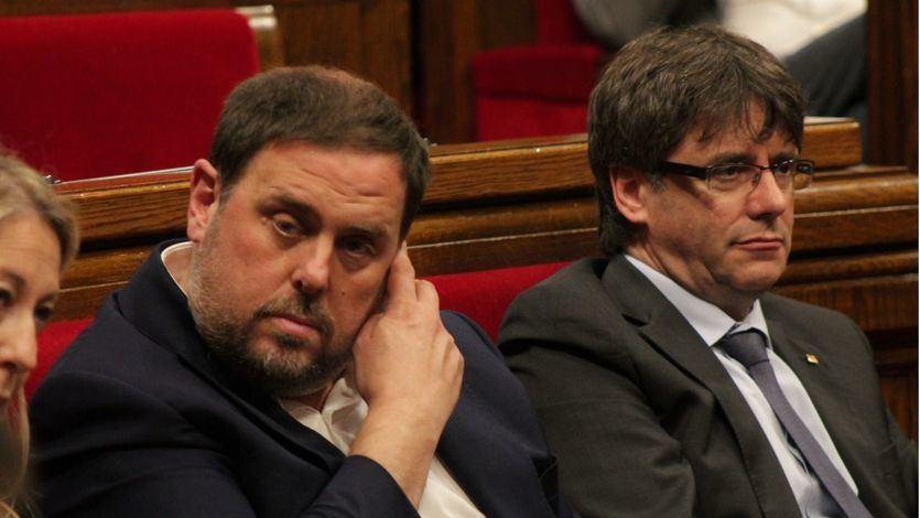 El Supremo confirma la suspensión como diputados de Puigdemont, Junqueras, Romeva, Turull, Rull y Sànchez