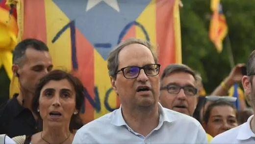 El disparatado sueldo del president Torra: ganará casi el doble que Pedro Sánchez tras subirse el salario